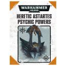 Heretic Astartes Psychic Power Cards Deutsch