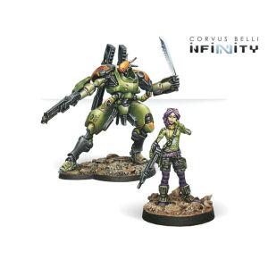 Scarface & Cordelia, Mercenary Armored Team
