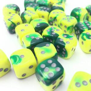Gemini Green-Yellow/silver