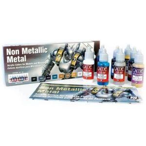 Vallejo Game Color: Set: Non Metallic Metal Set (8)