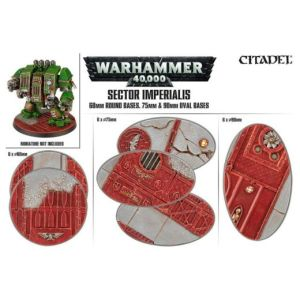 Sector Imperialis: 60mm 75/90mm Bases