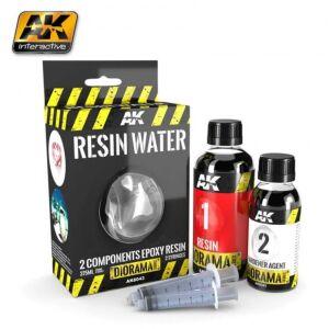 Resin Water 2 Komponent Epoxy 375ml