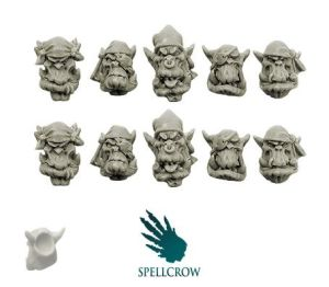 Orcs Freebooters Heads ver. 2