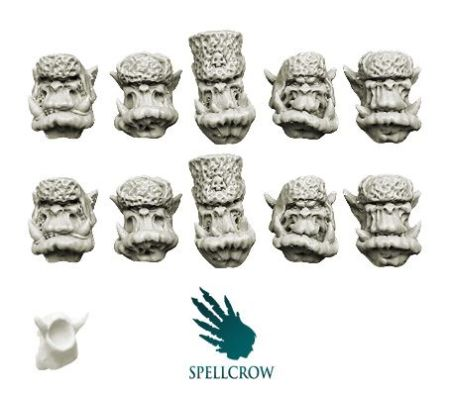 Orcs Winter Devils Heads