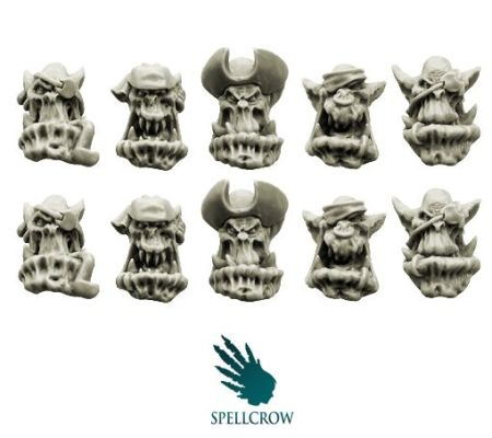 Orcs Bulky Freebooters Heads