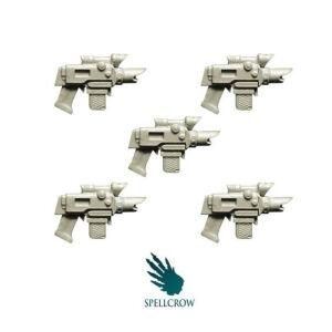 Improved Laser Pistols