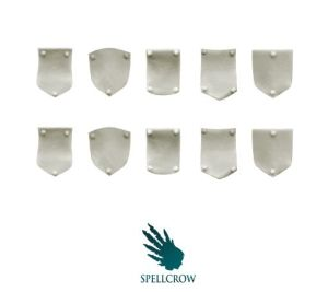 Space Knights Small Shoulder Shields
