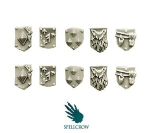 Wolves Knights Small Shoulder Shields