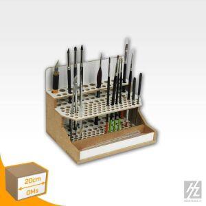 Pinsel- und Werkzeughaltermodul schmal