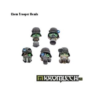 Chem Trooper Heads (10)