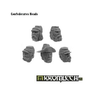 Confederates Heads (10)