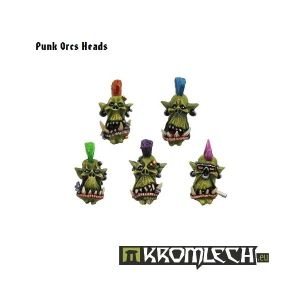 Punk Orcs Heads (10)