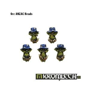 Orc ANZAC Heads (10)