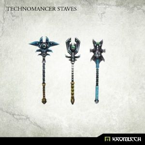 Technomancer Staves (3)