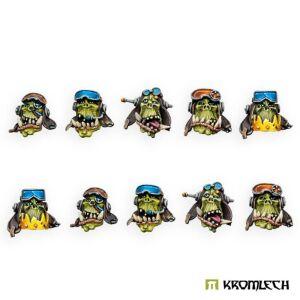 Orc Pilot Heads (10)