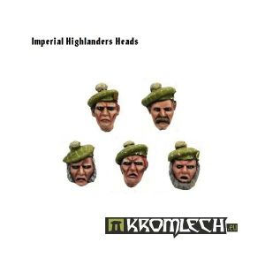 Imperial Highlanders Heads (10)