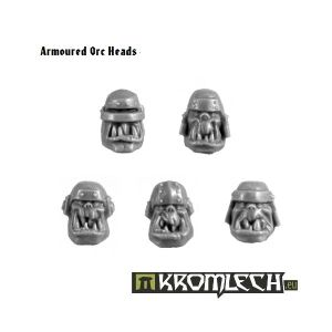 Armoured Orc Heads (10)