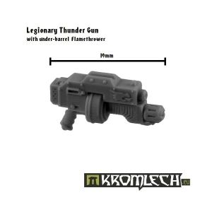 Legionary Thunder Gun with under-barrel Flamethrower (5)