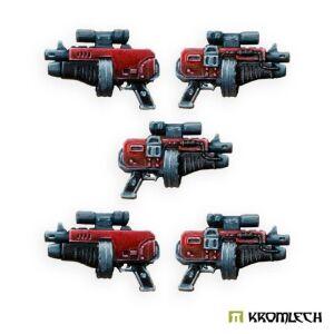 Legionary Thunder Gun with under-barrel Gravity Distorter...
