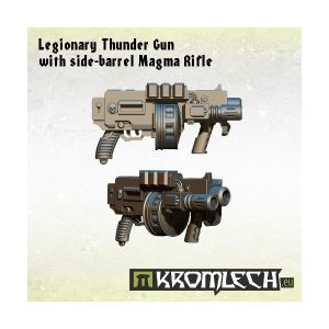 Legionary Thunder Gun with side-barrel Magma Rifle (5)
