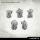 Orc Iron Mask Heads (10)