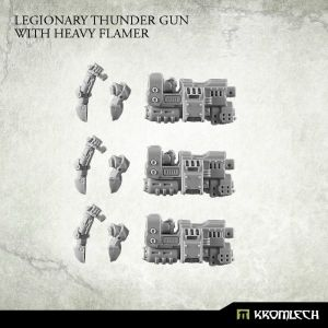 Legionary Heavy Thunder Gun with Heavy Flamer (3)