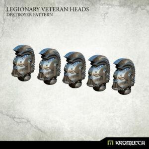 Legionary Veteran Heads: Destroyer Pattern (5)