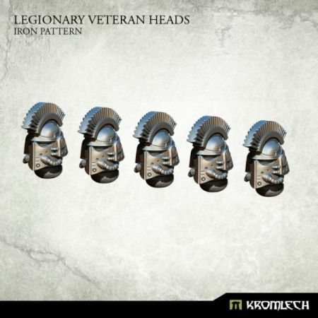 Legionary Veteran Heads: Iron Pattern (5)