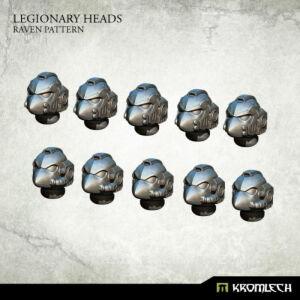 Legionary Heads: Raven Pattern (10)