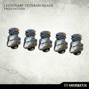 Legionary Veteran Heads: Raven Pattern (5)