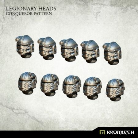 Legionary Heads: Conqueror Pattern (10)