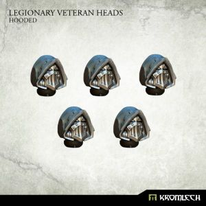 Legionary Veteran Heads: Hooded (5)