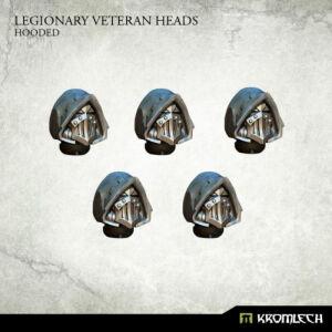 Legionary Veteran Heads: Hooded (5)