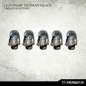 Legionary Veteran Heads: Liberator Pattern (5)