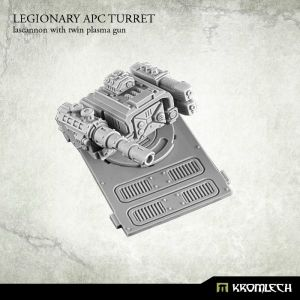 Legionary APC turret: Lascannon with twin plasma gun (1)