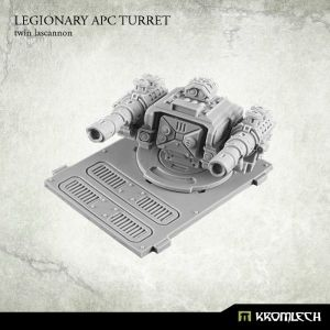Legionary APC turret: Twin Lascannon (1)
