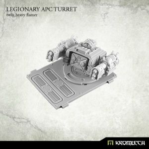 Legionary APC turret: Twin Heavy Flamer (1)