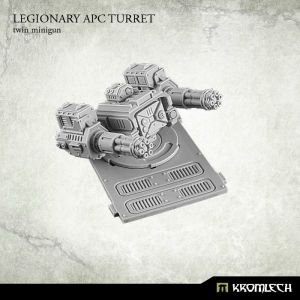 Legionary APC turret: Twin Minigun (1)