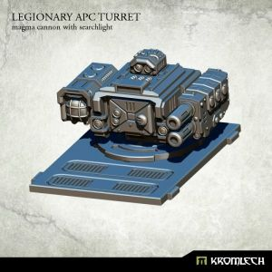 Legionary APC turret: Magma Cannon with Searchlight (1)