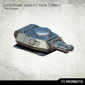 Legionary Assault Tank Turret: Twin Minigun (1)