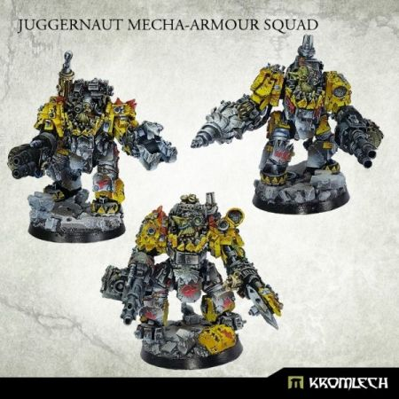 Orc Juggernaut Mecha-Armour Squad (3)