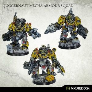 Orc Juggernaut Mecha-Armour Squad (3)