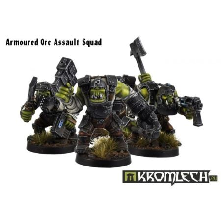 Armoured Orc Assault Squad (10)