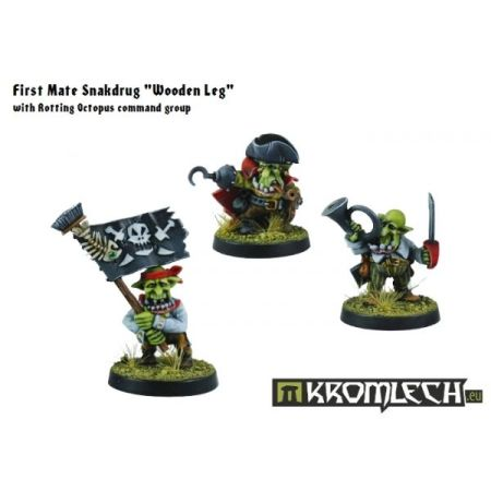 Goblin Pirates Command Group (3)