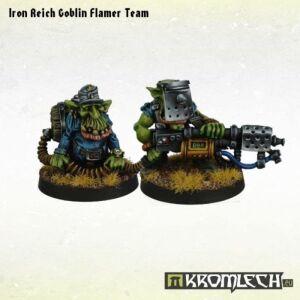 Iron Reich Goblin Flamer Team (2)