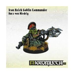 Iron Reich Goblin Commander Kurz von Niedrig (1)