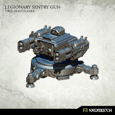 Legionary Sentry Gun: Twin Heavy Flamer (1)