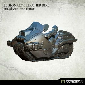 Legionary Breacher Bike (1) armed with twin flamer