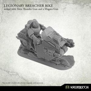 Legionary Breacher Bike (1) armed with twin thunder gun...