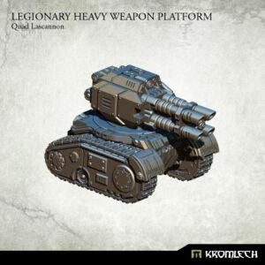 Legionary Heavy Weapon Platform: Quad Lascannon (1)